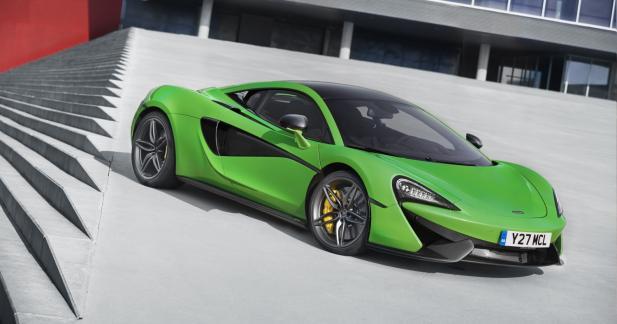 McLaren Sport Series: la production est lancée
