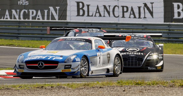 GT1 World - Zandvoort : une première pour le HTP Gravity Charouz