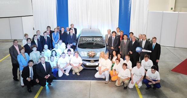 Hyundai passe le cap du million de voitures produites en Europe