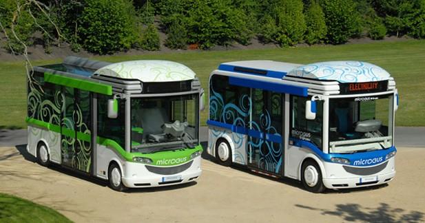 Bluebus : Des minibus 100% électriques dans Paris