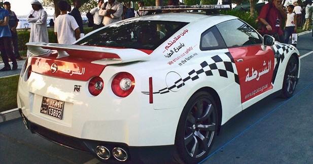 Une Nissan GT-R pour la police d'Abu Dhabi