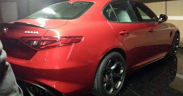 La nouvelle Alfa Romeo Giulia en fuite sur internet