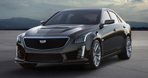 Cadillac CTS-V 2016 : elle arrive !