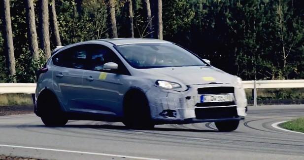 Ford nous fait saliver avec un teaser de la nouvelle Focus RS