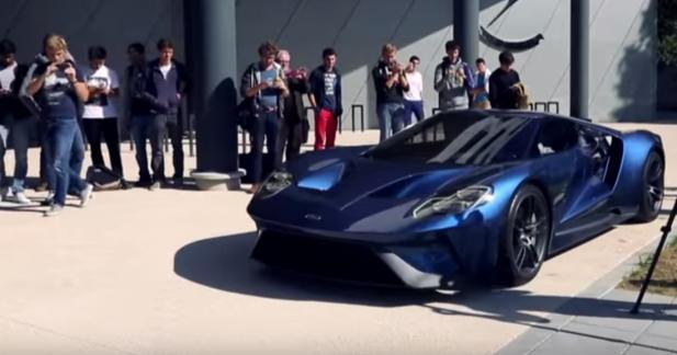 Ford GT : quand le rêve devient réalité pour les ingénieurs de l'ESTACA
