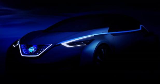 Un aperçu de la future Nissan Leaf au salon de Tokyo