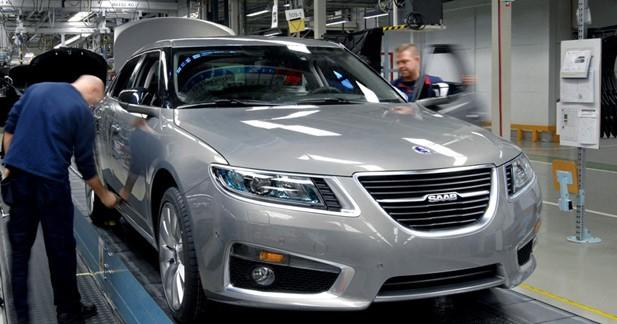 Saab relance la production de la nouvelle 9-5