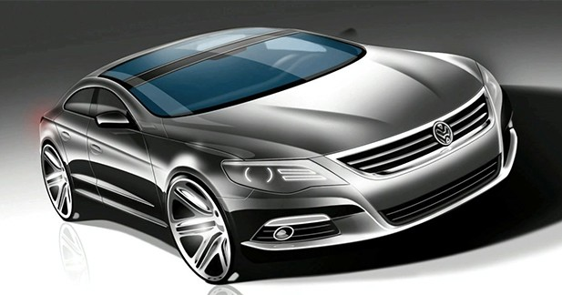 une volkswagen cc fastback serait l 39 tude. Black Bedroom Furniture Sets. Home Design Ideas