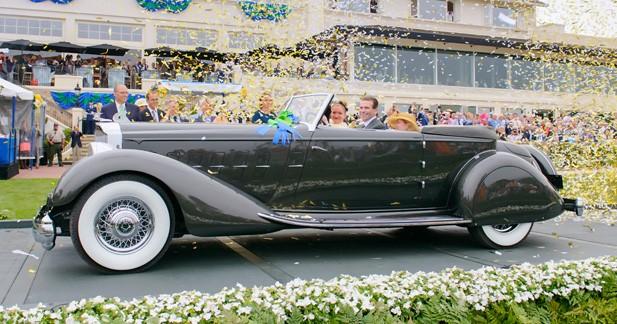 Concours d'Élégance de Pebble Beach 2013 : la plus belle est une Packard