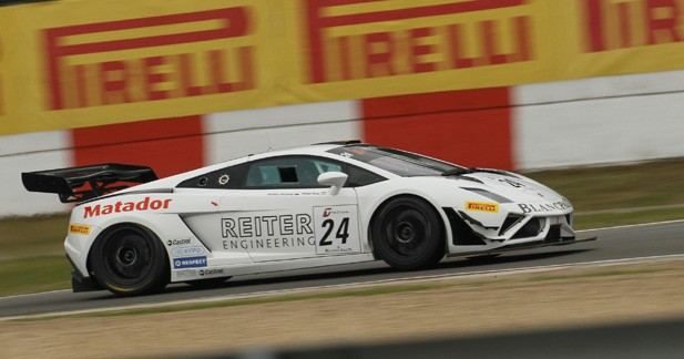 GT1 World – Zolder : Le hold up du Lamborghini Blancpain Reiter