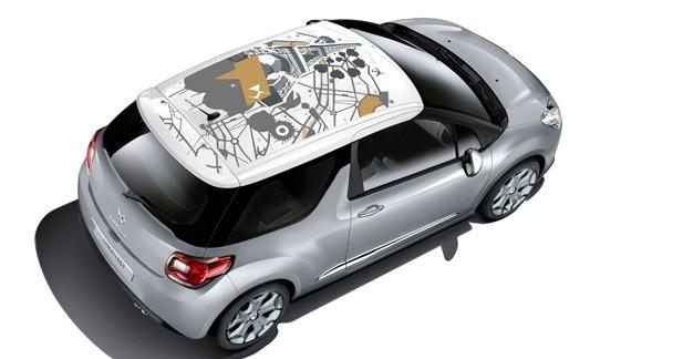 Citroën DS3 : nouvelle collection de trois nouveaux adhésifs