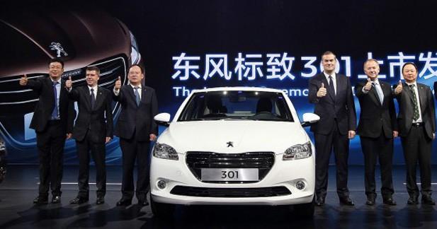 La Peugeot 301 arrive en Chine