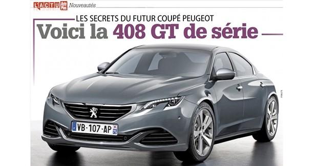 Scoop : découvrez la Peugeot 408 GT de série