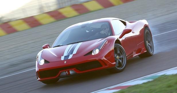 Ferrari 458 Speciale Spider : 458 exemplaires seulement !