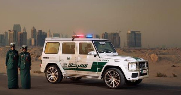 La police de Dubaï roule en Mercedes Brabus B63S