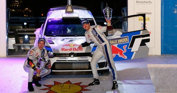 WRC - Suède: Ogier offre une première victoire à la Polo WRC