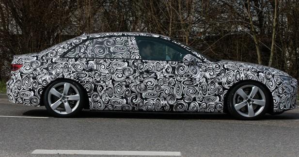 Spyshots: la nouvelle Audi A4 capturée en vidéo