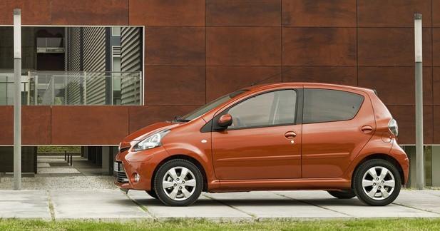 Simplification de gamme pour la Toyota Aygo