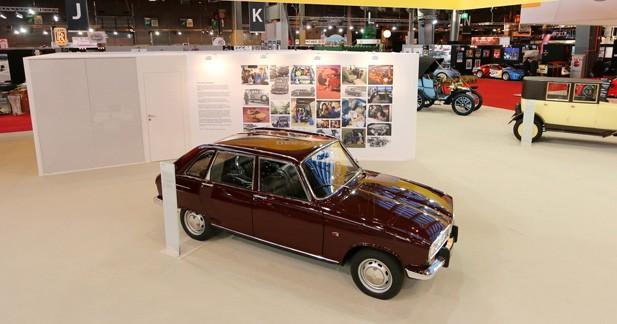 Renault 16: un cinquantenaire en grande pompe à Rétromobile