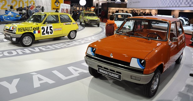 Renault célèbre 3 anniversaires à Rétromobile