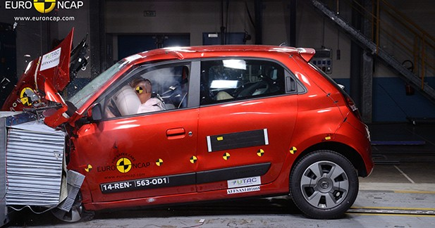 Premier crash-test pour la nouvelle Renault Twingo