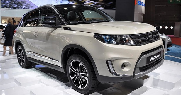 Mondial Auto 2014 : Suzuki fait revivre son Vitara