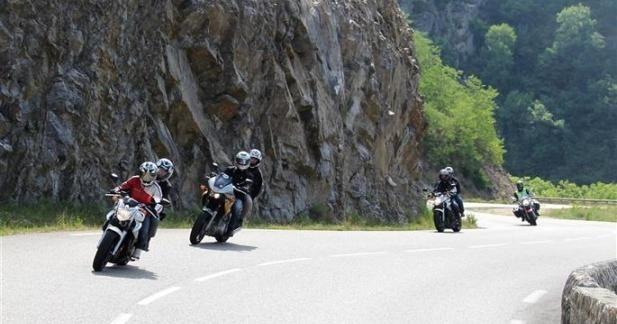 La Sécurité Routière soigne l'accueil des motards en Ardèche