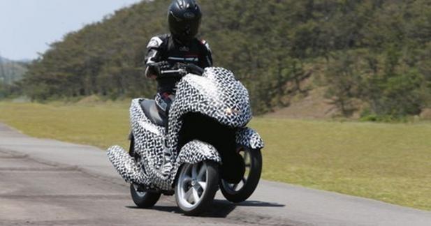 La sortie du 3 roues Yamaha confirmée