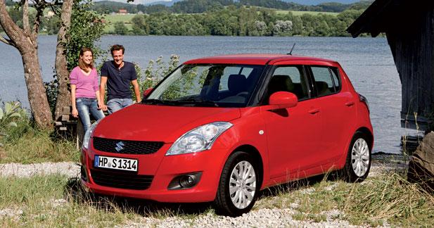 2 millions de ventes pour la Suzuki Swift