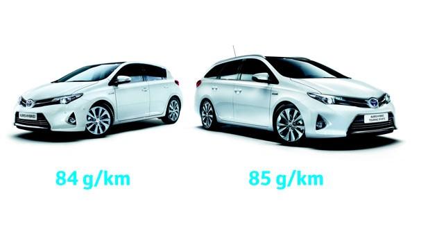 Une Auris hybride encore plus sobre chez Toyota