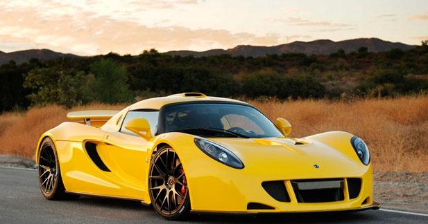 Le 0 à 370 km/h en moins de 20 secondes pour la Venom GT
