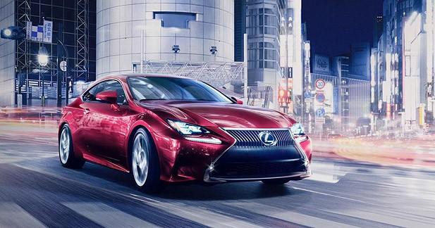 Nouvelle Lexus RC : la berline IS en mode coupé