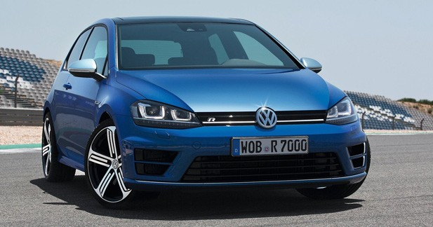 volkswagen golf 7 r la plus puissante des golf a un prix. Black Bedroom Furniture Sets. Home Design Ideas