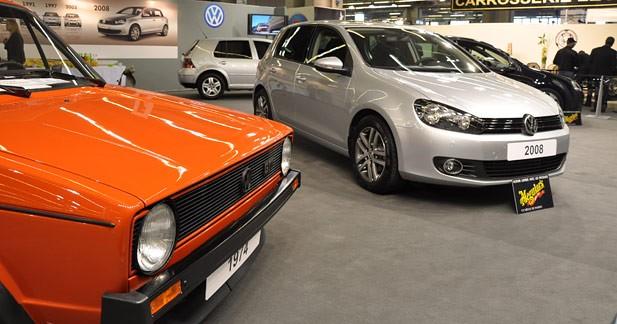 Rétromobile 2009 : la Volkswagen Golf dans tous ses états