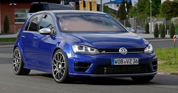 Spyshots: la Volkswagen Golf R400 est bien partie pour devenir la GTI la plus performante au monde