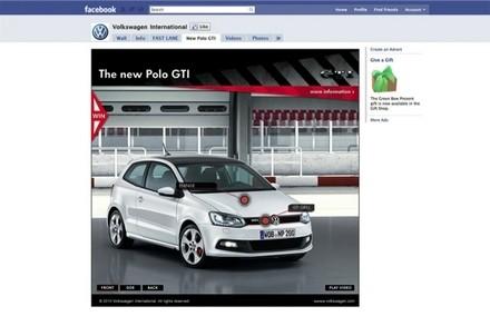 La VW Polo GTI lancée sur Facebook