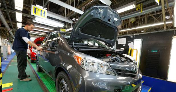 Début de la production chez Toyota pour la Yaris destinée aux USA