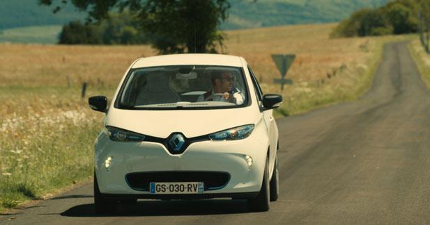 La Renault Zoé fait son cinéma