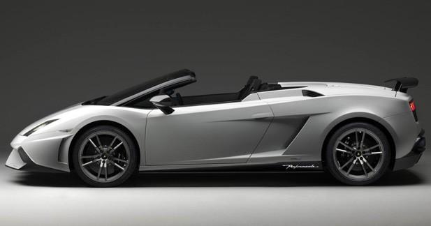 Lamborghini Gallardo LP570-4 Spyder Performante : elle parade à Los Angeles