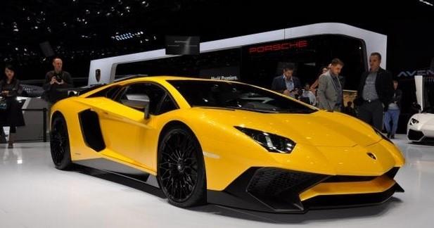 Lamborghini Aventador LP750-4 SV: +50 ch, -50 kg