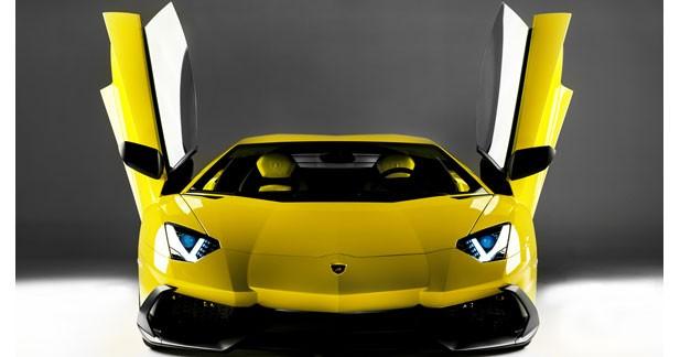 Une série anniversaire de l'Aventador pour les 50 ans de Lamborghini