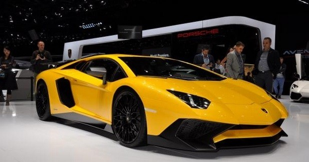 Lamborghini confirme la production de l'Aventador SV Roadster