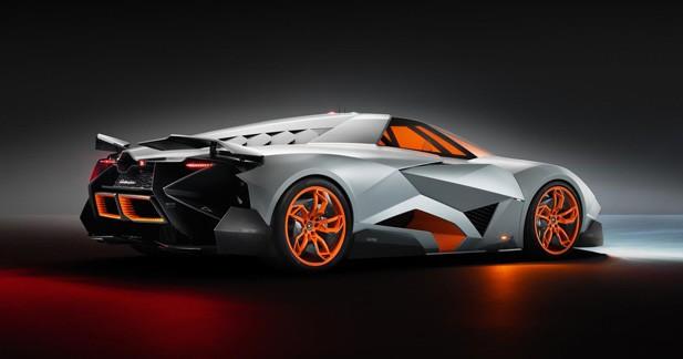Lamborghini Egoista : Comme son nom l'indique