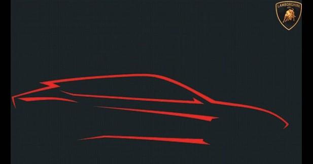 Lamborghini lève un coin de voile sur son futur SUV