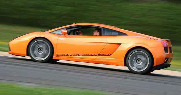 Lamborghini Gallardo : la corrida !