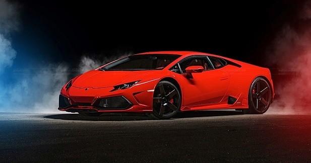 Lamborghini Huracan par Ares Performance: le taureau transfiguré