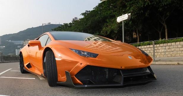 Lamborghini Huracan: 1 088 ch grâce à DMC