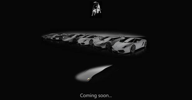 Lamborghini Jota : un teaser pour débuter