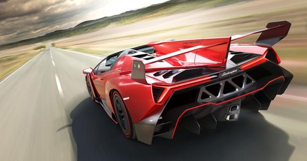 Lamborghini Veneno Roadster : la fête continue