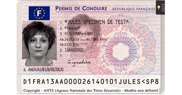 Le nouveau permis de conduire disponible dès aujourd'hui